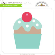 Milk & Cookies - Cupcake