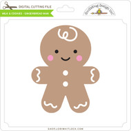 Milk & Cookies - Gingerbread Man