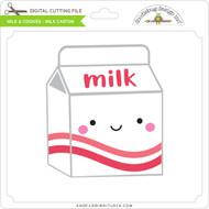 Milk & Cookies - Millk Carton