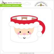 Milk & Cookies - Santa Mug