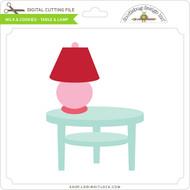 Milk & Cookies - Table & Lamp