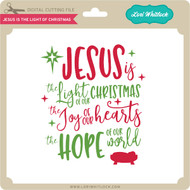 Jesus is the Light of Christmas