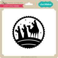 Nativity Circle Wisemen