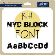 NYC Block Font