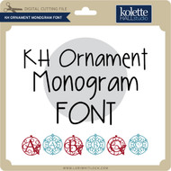 Ornament Monogram Font
