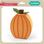 3D Large Pumpkin