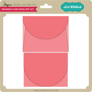 Rounded Card Envelope Set