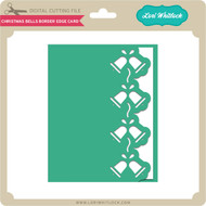 Christmas Bells Border Edge Card