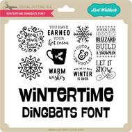 Wintertime Dingbats Font