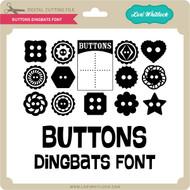 Buttons Dingbats Font