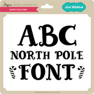 North Pole Font