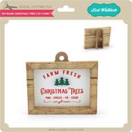 3D Frame Christmas Tree Cut Carry