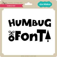 Humbug Font
