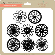 Flower Doily Bundle 1