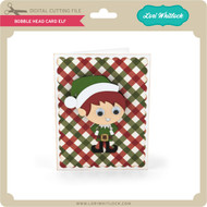 Bobble Head Card Elf