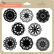 Flower Doily Bundle 3