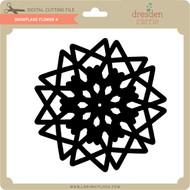 Snowflake Flower 4