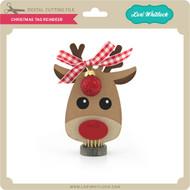 Christmas Tag Reindeer