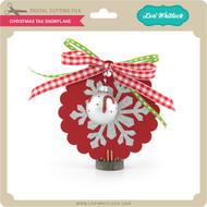 Christmas Tag Snowflake