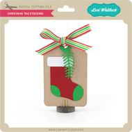 Christmas Tag Stocking