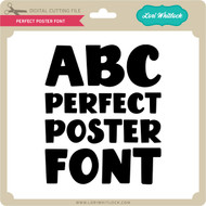 Perfect Poster Font