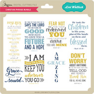 Christian Phrase Bundle