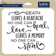 Death Leaves a Heartache 2