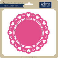 Heart & Arrow Doily