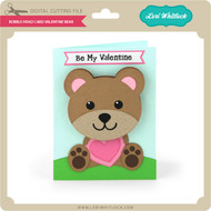 Bobble Head Card Valentine Bear