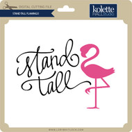 Stand Tall Flamingo