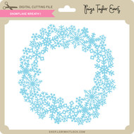 Snowflake Wreath 1