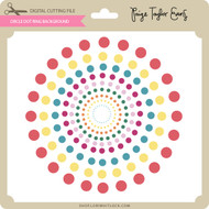 Circle Dot Ring Background