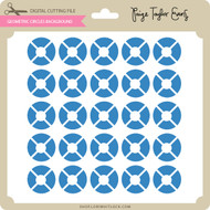 Geometric Circles Background