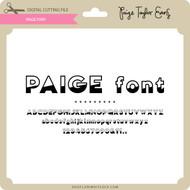 Paige Font