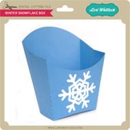 Winter Snowflake Box