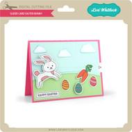Slider Card Easter Bunny