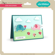 Slider Card Elephants