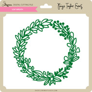 Leaf Wreath 2