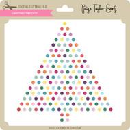 Christmas Tree Dots