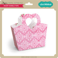 Heart Handle Tote