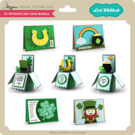 St Patrick's Day Card Bundle