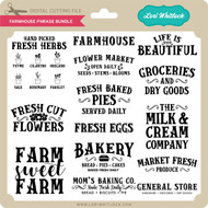 Farmhouse Phrase Bundle