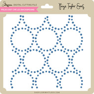Polka Dot Circles Background