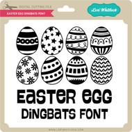 Easter Egg Dingbats Font