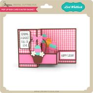 Pop Up Box Card Easter Basket