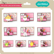Pop Up Box Card Easter Bundle