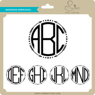 Monogram Arrow Basic