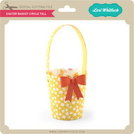 Easter Basket Circle Tall