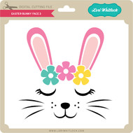 Easter Bunny Face 3