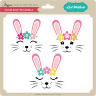 Easter Bunny Face Bundle 2